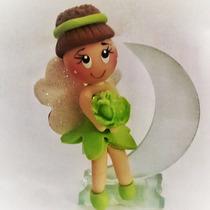 Recuerdo De Xv Quince Años Hada En Luna De Cristal Pasta