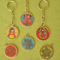 Medallas Virgencitas Plis Como Padrísimos Llaveros Nvd