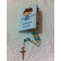 Minibiblia Personalizada Y Rosario Biblia Rosario Bolo