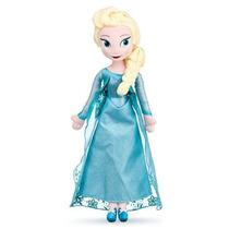 Muñeca De Peluche Elsa Frozen Disney Store 50 Cm Exclusiva