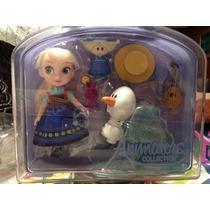 Elsa Frozen Animators Exclusiva De La Disney Store Estuche