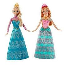 Frozen Elsa Y Anna Royal Princesas Disney Precio X 2 Arendel