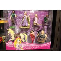 Set De Figuras De Enredados Disney