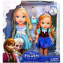 Disney Congelado Deluxe Niño Elsa Y Anna Muñecas