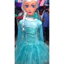 Disfraz Tutus Frozen Elsa Con Peluca Y Capa Hermoso
