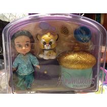 Jasmine De Aladin Animators Disney Store Toddler Con Estuche