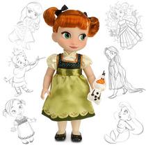 Muñecas Anna Elsa Kristoff Y Más Animator 40cm Disney Store