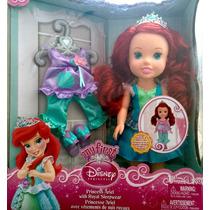 Disney First Princesa (ariel Con Ropa De Dormir Real )