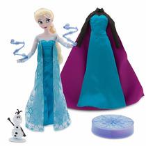 Elsa Deluxe Singing 28 Cm Muñeca Que Canta Frozen