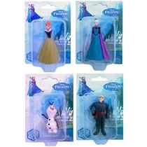 Disney Congelado Figurines- Anna Elsa Olaf Y Kristoff