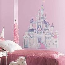 Compañeros Rmk1546gm Disney Princess Glitter Castillo Cáscar