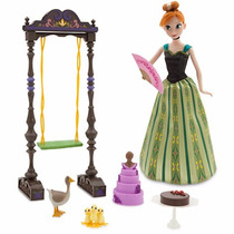 Set Anna Frozen Canta Disney Store Importado Original