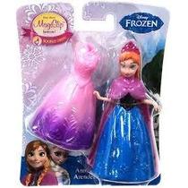 Anna Frozen Disney Figura Magiclip Nueva En Caja
