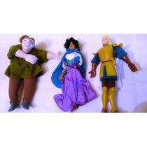 Lote De Figuras Titeres De Esmeralda Y El Jorobado De Disney