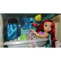 Ariel Sirenita Animator Set Deluxe. Disney Store!!!