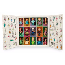 Set Muñecas Animators Mini Dolls Colección Disney Store 2015