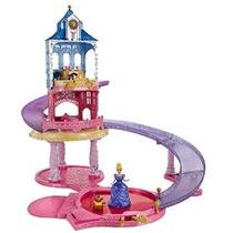Disney Princess Glitter Planeador Castillo Playset