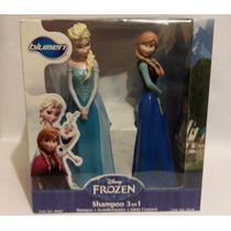 Frozen Shampoo 3 En 1 Paquete Con Elsa Y Anna