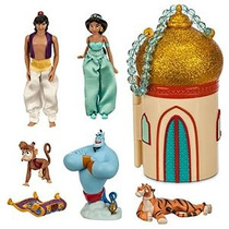 Disney Store Princesa Jasmine Mini Castillo Play Set ~ Aladd