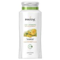 Pantene Pro-v Nature Fusion Moisturizing Shampoo Con Melón E