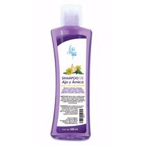 Shampoo De Ajo Y Árnica Para Cabello Maltratado Sheló Nabel