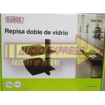 Repisa De Doble Vidrio 36x25 500938