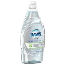 Dawn Esenciales Ultra Pure Color Lavavajillas Líquido Claro