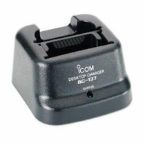 Cargador Lento Icom Bc 137 Para Radios Icom Icf 21 Icv8 Etc