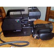 Video Camara Sony Vintage Solo Conocedores En Estuche