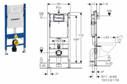 Promokit keramag geberit sanitario pulsador cisterna for Pulsador cisterna