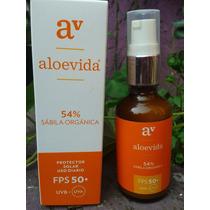 Protector Solar Fps-50, Aloe Vera 65% Organico