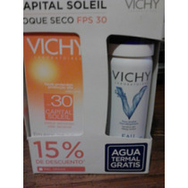 Kit Vichy Bloqueador Solar Capital Soleil Toque Seco 50 Ml