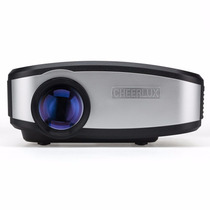 Cheerlux C6 Alta Definición Mini Proyector Led Portátil Tv