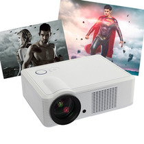 Proyector White Hd 1080p Home Theatre Led Projector 30000