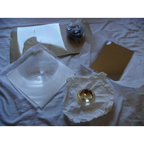 Lente Fresnel. Lente Triplet Reflector. Balastras Electronic
