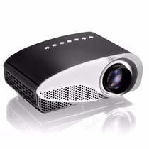 Mini Proyector Led 180 Lumens Tv Turner Hdmi 3d Full Hd 4k