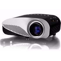 Mini Proyector Led 180 Lumens Tv Turner Hdmi 3d Full Hd 4k
