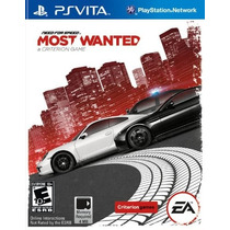 Need For Speed Most Wanted - Ps Vita- Envio Gratis