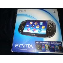 Ps Vita Incluye Tarjeta De Memoria Y 3 Juegos