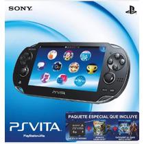 Ps Vita 64 Gb + 4 Gb + 2 Juegos + Funda