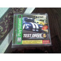 Play Station 1 Ps One Test Drive 5