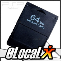 Nueva!! Memory Card Ps2 Playstation 2 Slim Y Fat 64mb