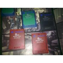 Memory Card Original De 8mb Para Tu Ps2