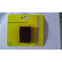Memory Card 32mb Ps2-playstation 2 - Envio Desde $30
