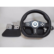 Volante Y Pedal Ps2 Playstation 2 Cobra Tt E523