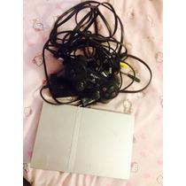 Playstation2 Slim Silver Con Chip 1c3