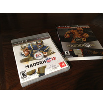 Nfl Madden 12 Ps3 Hall Of Fame Edition No Acepto Cambios