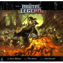 Libro De Arte The Art Of Brutal Legend De Coleccion!!