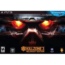 Killzone 3 Helghast Edition Ps3 Nuevo Blakhelmet Sp