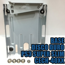 Base Disco Duro De Ps3 Super Slim Kit Caddy Charola Hdd Dd